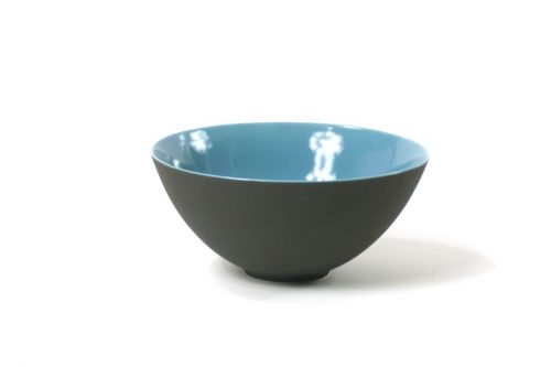 bowl black with glossy blue|bowl and plate black blue