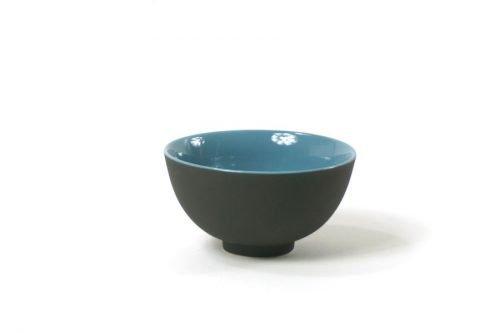 small bowl black blue bowls japanese black blue