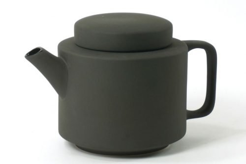teapot black matt extra large|black teapot with teacup
