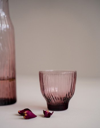 kinta Amnis glassware rosy