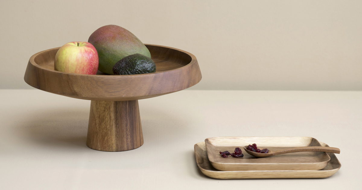 collection trends scandinavian fruit tray