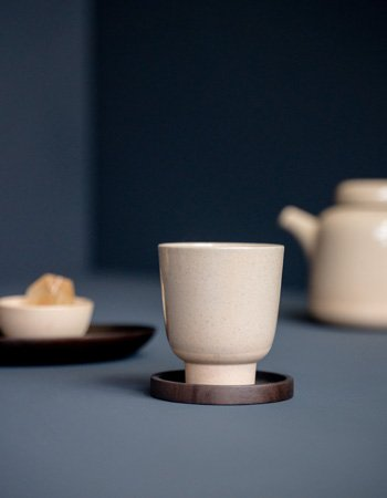 Rutunda teacup natural sandclay