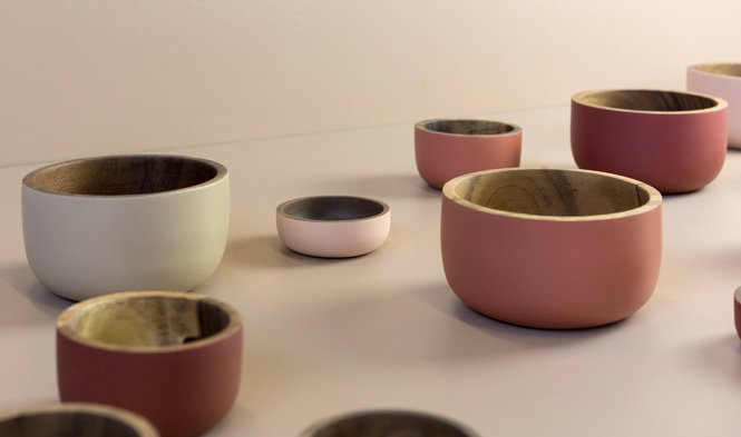bowls colored wood trend