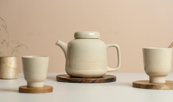 kinta teapot round design