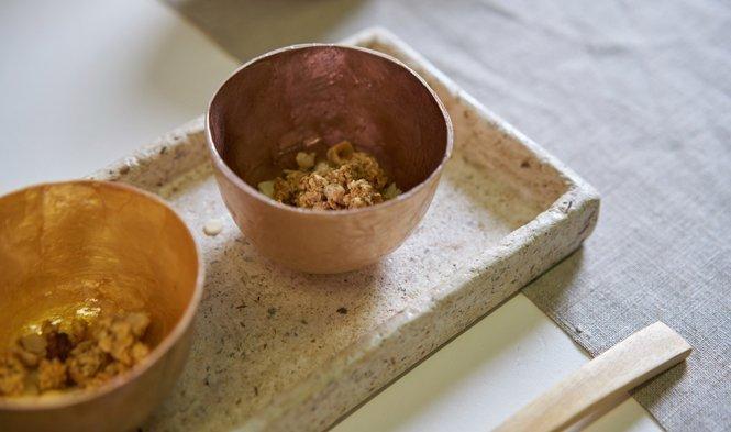 kinta table accessories capiz bowl
