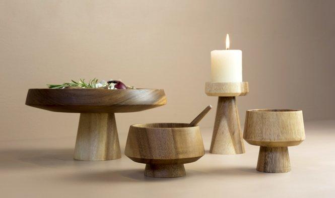 design bowl candleholder mushroom
