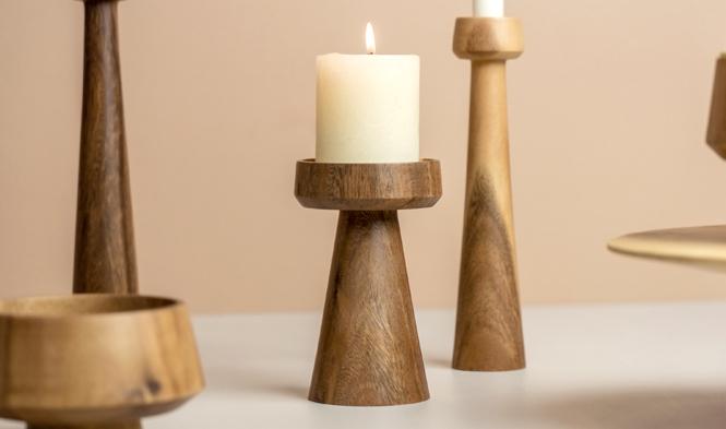 kinta candle holder mushroom