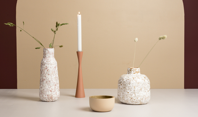 spring collection vases candle holder