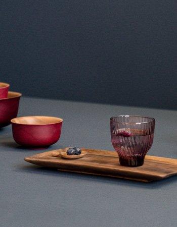 japanese tray acacia wood